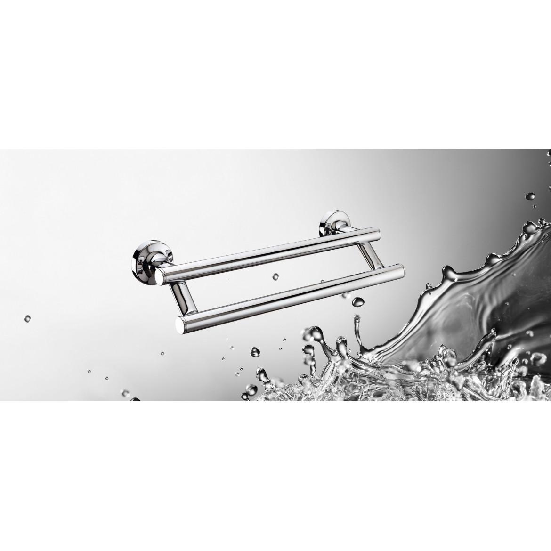 Toallero Barra Doble 650mm E-Plus Sonia