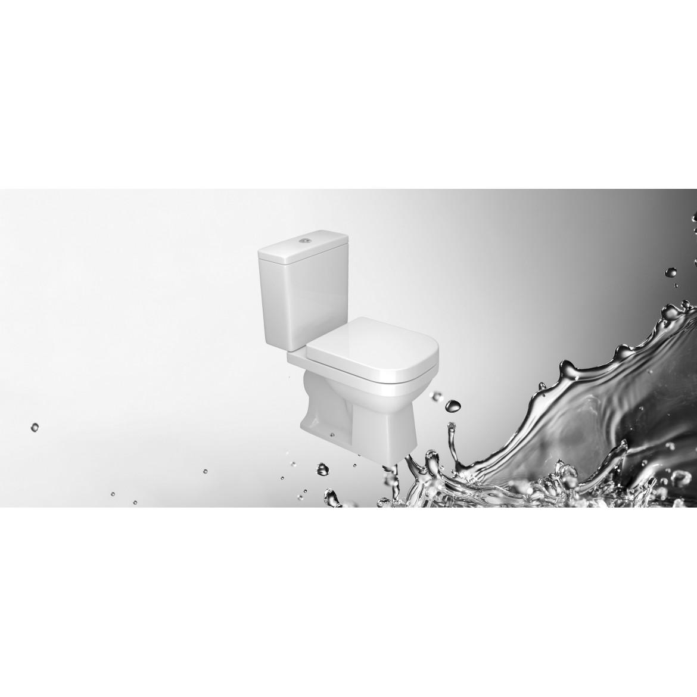 Inodoro  Quadra Blanco Deca