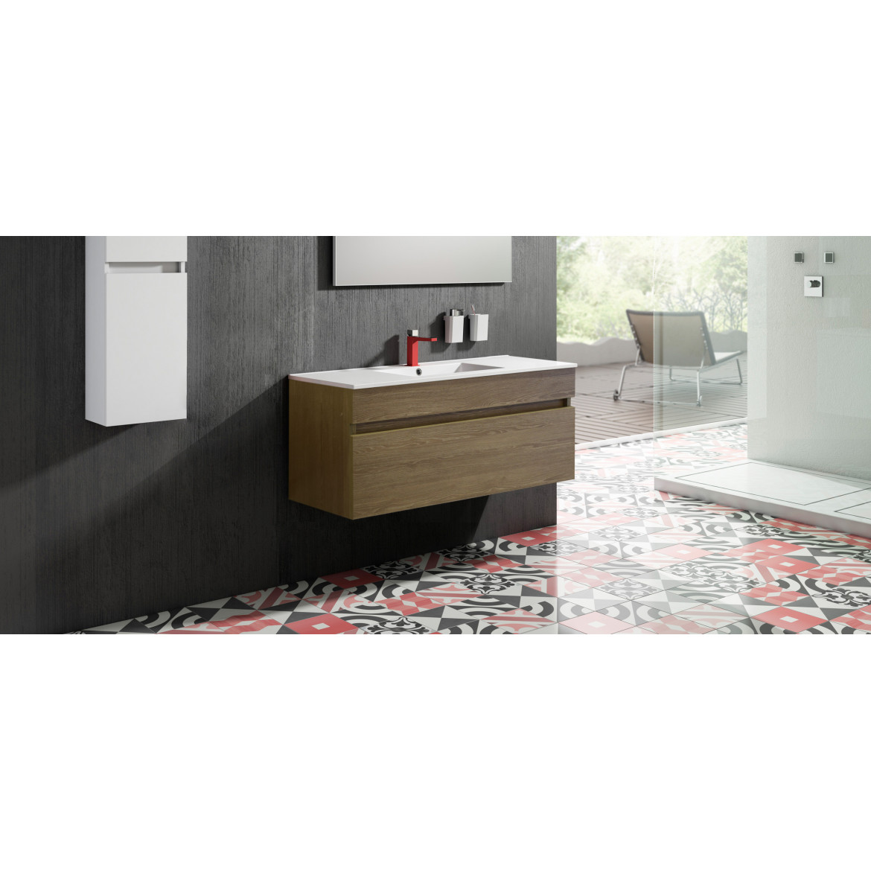 Mueble de Baño Essentials  Greywood 100 con Lavamanos  Encimera SX8. Sonia.
