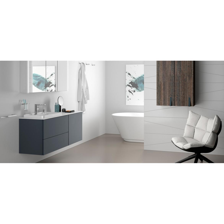 Mueble de Baño Evolve Anthacite Soft de 100 cms.con  Lavamanos y  Encimera MX6. Sonia.