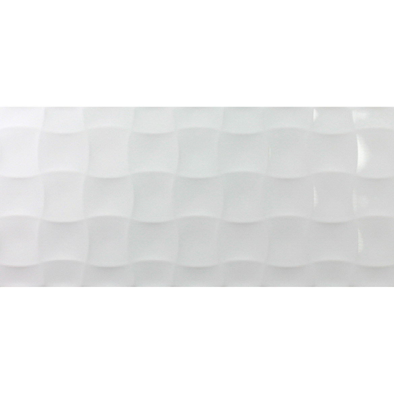Cerámica Millenium Quilt Blanco Brillo Keraben